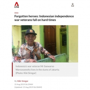Indonesia Independence Day Veterans Hard Times Recognition