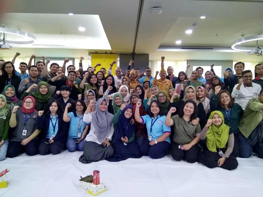 1/12/18 Ngobrol bareng Veteran di PZ Cussons Jakarta