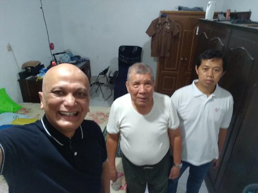 27/2/20 Silahturahmi bersama pak Marcus Mangentang