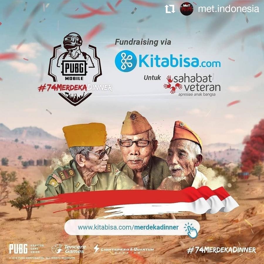 Terimakasih @met.indonesia dan @pubgmobile_id